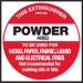 Extinguisher Label - Powder AB (E)