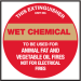 Extinguisher Label - Wet Chemical