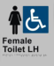 Female toilet LH-ALUM