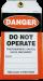 Tamper Proof Danger Safety Tag