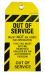 Tamper Proof Out of Service Safety Tag