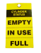 Cylinder Status Safety Tag